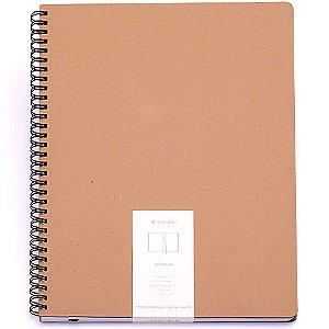 Caderno Kraft Sem Pauta 21X28 Cicero