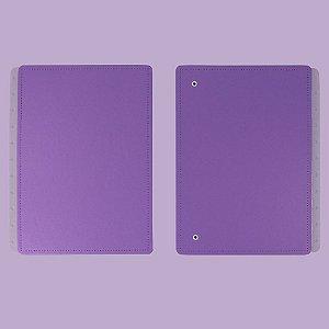 Capa E Contracapa Caderno Inteligente All Purple Grande