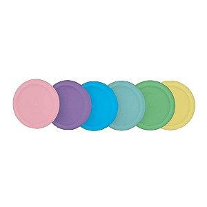 Discos + Elástico 23mm Diversidade Brasileira Médio Caderno Inteligente