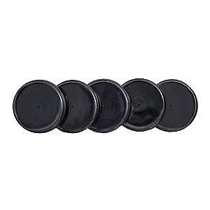 Discos + Elástico 31mm Preto Grande Caderno Inteligente