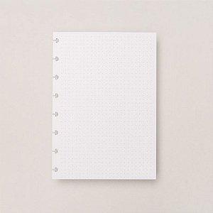 Refil Pontilhado A5 30Fls 120G Caderno Inteligente
