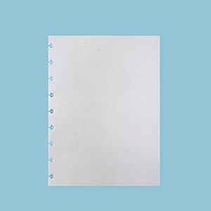 Refil Pontilhado Linha Branca Médio 90G Caderno Inteligente