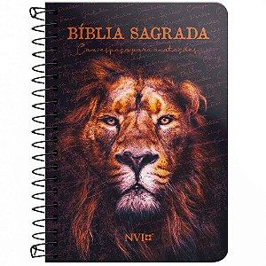 Bíblia Anote Nvi Espiral - Leão De Juda