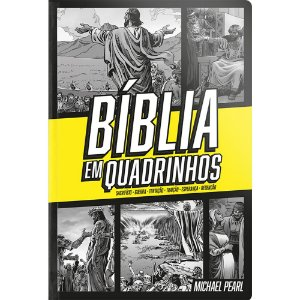 Bíblia Em Quadrinhos - Capa Dura Amarela