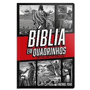 Bíblia Em Quadrinhos - Capa Dura Vermelha