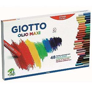 Giz Pastel Oleoso Giotto Olio Maxi 48 Cores