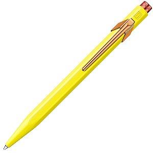 Caneta Esferográfica Caran D'Ache Claim Your Style Canary Yellow