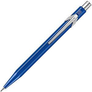Lapiseira 0,7mm Caran D'Ache Metal-X Azul
