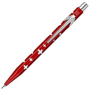 Lapiseira 0,7mm Caran D'Ache Swiss Flag