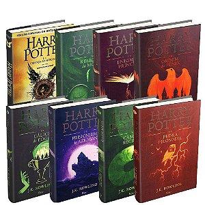 Kit Harry Potter Capa Dura + Harry Potter E A Criança Amaldiçoada Parte Um E Dois