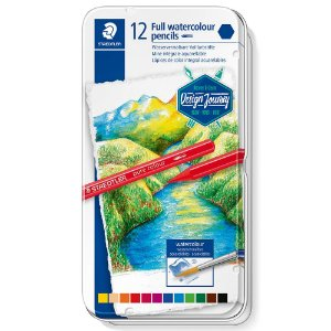 Lápis Cor Staedtler Integral Aquarelável 12 Cores Pure Colour