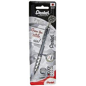 Lapiseira Pentel P360 0.9mm Preta