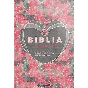 Biblia Rc Gigante Semi-Luxo Coração