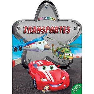Colorindo: Transportes