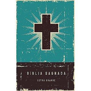 Bíblia Retrô Turquesa Nvi Capa Dura