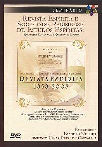 Dvd-Revista Espírita e Sociedade Parisiense de Estudos Espíritas