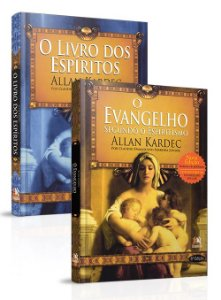 Kit- Livro dos Espíritos e Evangelho (Besourobox)