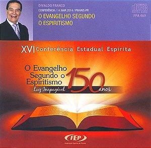 CD-XVI CEE Evangelho Seg. o Espiritismo (O)