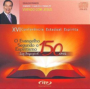 CD-XVI CEE Vivendo Com Jesus (Duplo)
