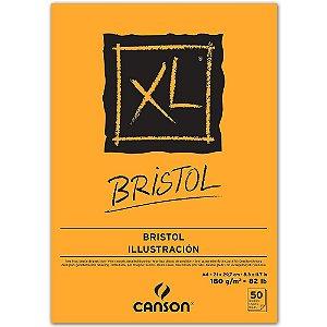 Bloco Papel Canson XL Bristol A4 50fls 180g