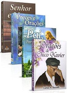 Kit- Orações Carlos  Baccelli e Irmão José