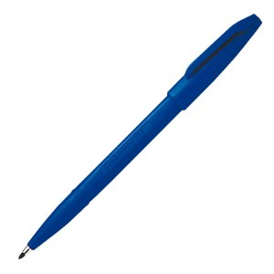 Caneta Pincel Sign Pen 0.2mm Azul S520-C