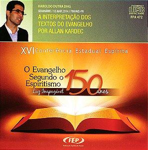 CD-XVI CEE Interpretação dos Textos do Evang. por Allan Kardec (A)