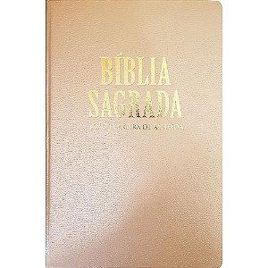 Bíblia Sagrada RC Extra-Gigante - Capa Luxo Bronze