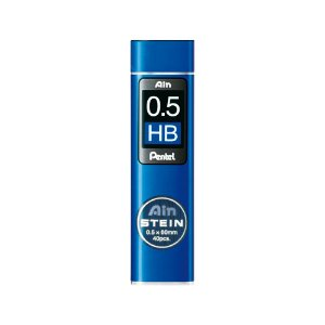 Grafite Pentel Ain Stein 0,5mm HB - C275-HBO