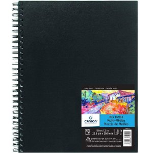 Sketchbook Mix Media Canson 22,9x30,5 224g 40fls