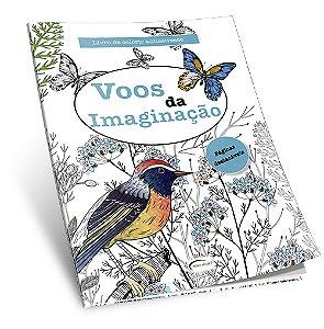 Livro de Colorir Antiestresse Voos da Imaginação