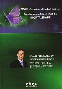 DVD-XVIII CEE Estudos Sobre à Existência de Deus