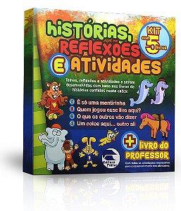 Histórias, Reflexões e Atividades (Kit com 5 Livros)