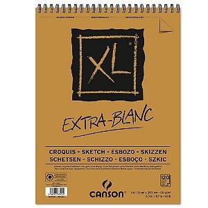 Bloco Papel Canson XL Extra Blanc A4 120fls 90g