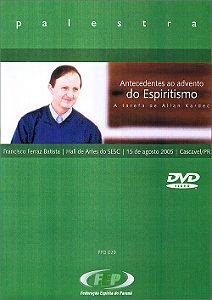 DVD-Antecedentes Ao Adv. do Esp. a Tarefa de Allan Kardec