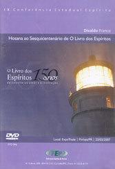 DVD-Ix Cee Hosana ao Sesquicentenário de o Livro dos Esp.