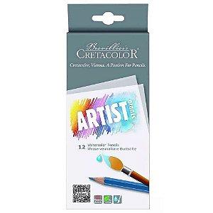 Lápis De Cor Aquarelável Artist Studio 12 Cores