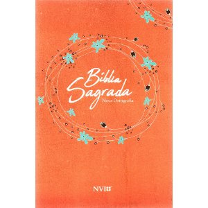 Bíblia Sagrada NVI Grande - Capa Brochura Laranja