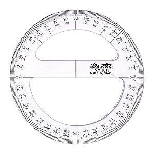 Transferidor Acrílico Trident 12 cm 360g Mod.8312