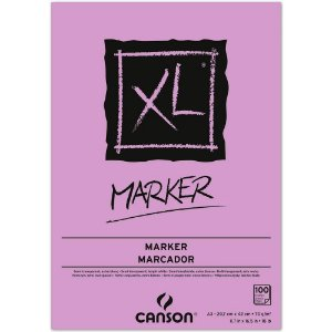 Bloco Papel Canson XL Marker A3 100fls 70g