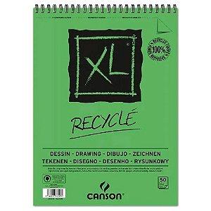 Bloco Papel Canson XL Reciclado 25fls A5 160g