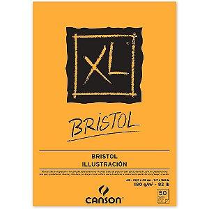 Bloco Papel Canson XL Bristol A3 50fls 180g