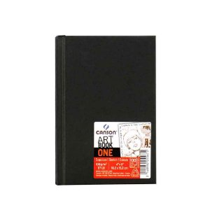 Caderno Artbook One A6 98fls 100g