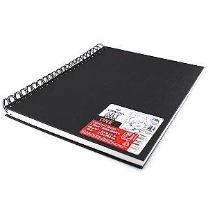 Caderno Artbook One Espiral 21,6x27,9 80fls 100g