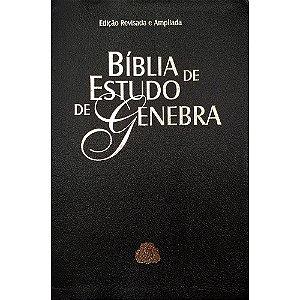 Bíblia De Estudo De Genebra - Luxo - Preta