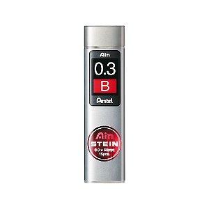 Grafite Pentel Ain Stein 0,3mm B - C273-BO