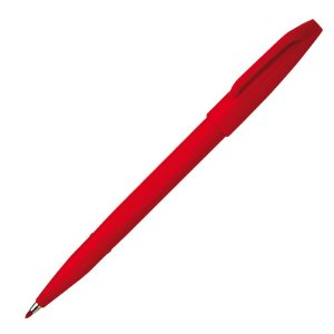 Caneta Pincel Sign Pen 0.2mm Vermelho S520-B