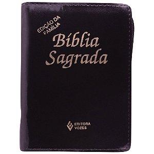 Bíblia Sagrada Edição Da Família - Bolso Ziper