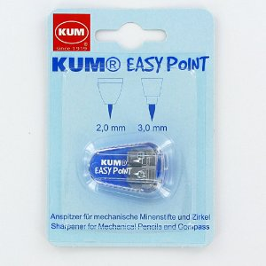 Apontador de Mina Easy Point 2 Furos Kum