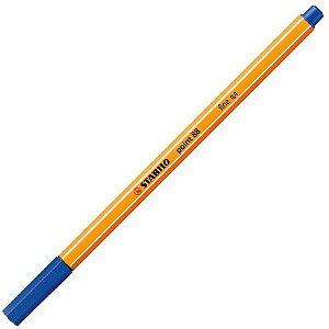 Caneta Stabilo Point 88 Azul Escuro Fine 0,4mm 88/41
